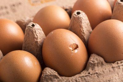 ひび割れ卵